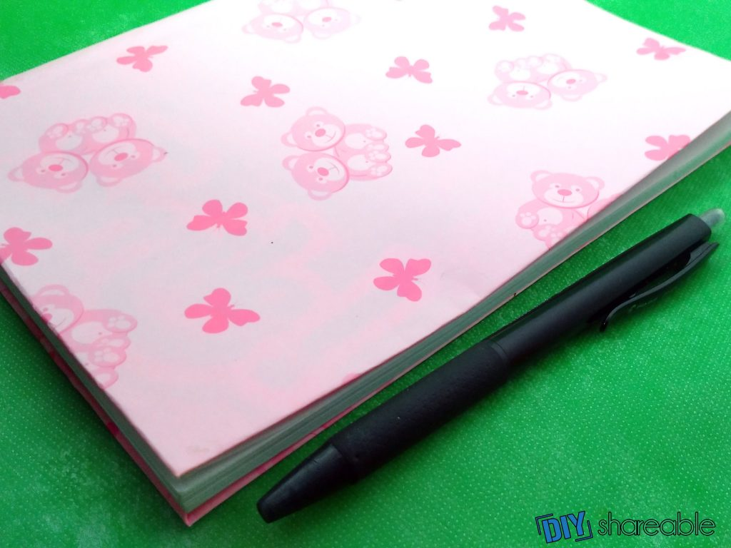 personalized DIY notebooks