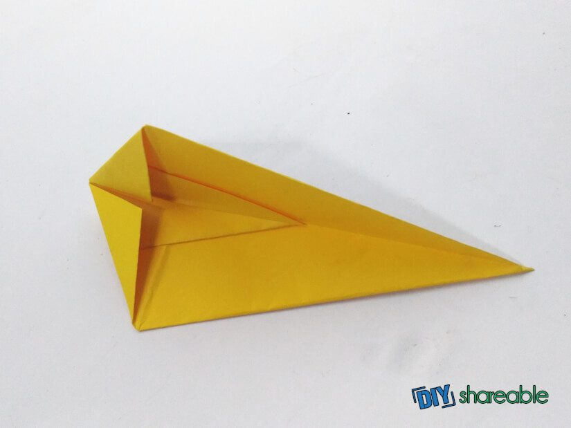 fold the mouse down the middle