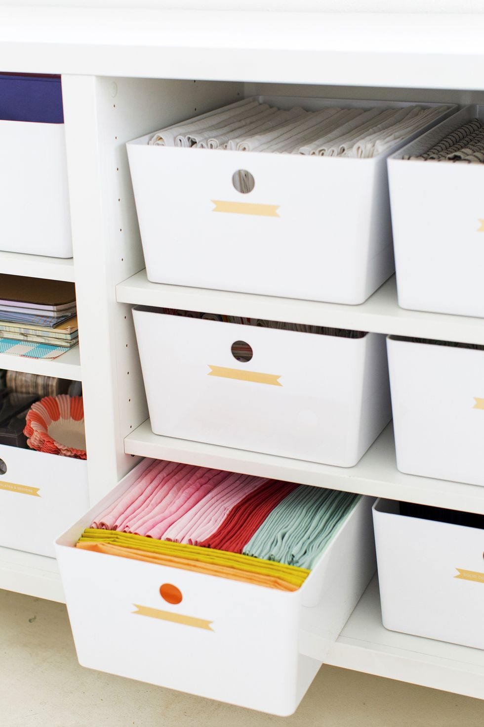 photo of additional drawers