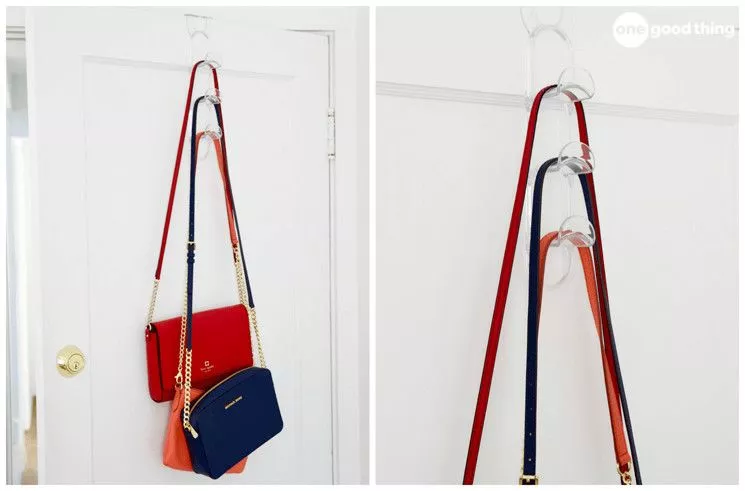 a hanging hook for bags