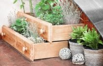 DIY drawers made for the outdoors