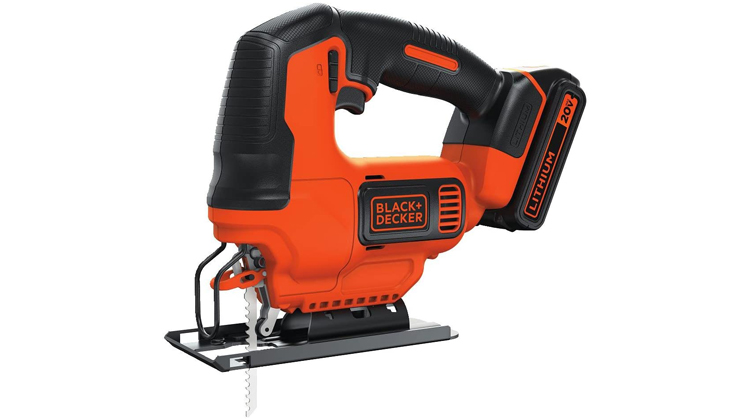 Black and Decker JigSaw with Battery and Charger