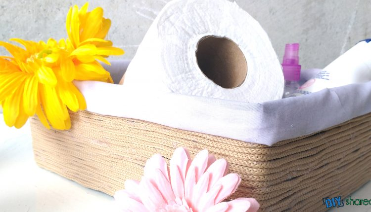 tissue in a basket