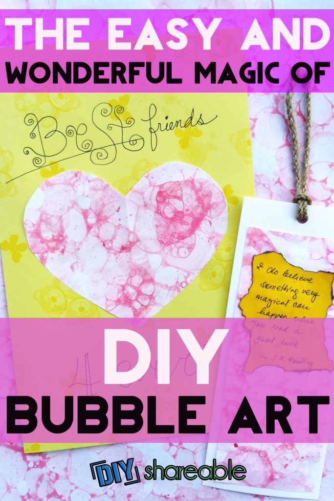 Pin It: The Easy and Wonderful Magic of DIY Bubble Art
