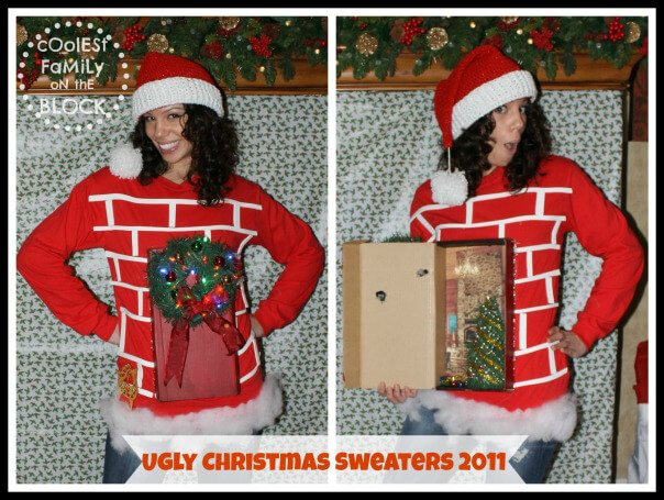 19 ugly christmas sweater ideas that will make your friends laugh - Homemade Ugly Christmas Sweater