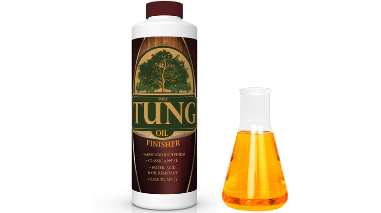 FDC Chem 100% Pure Tung Oil Finish Wood Stain & Natural Sealer