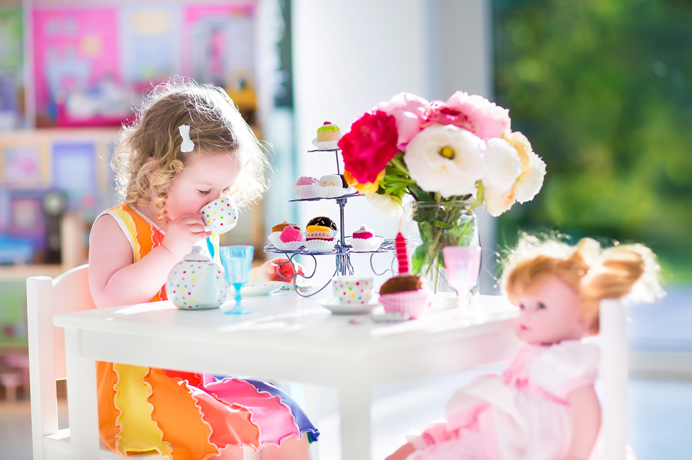 How to Make Barbie Furniture Out of Household Items