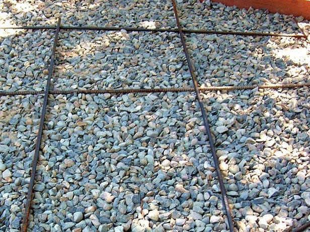 A Gravel Base and Reinforcement