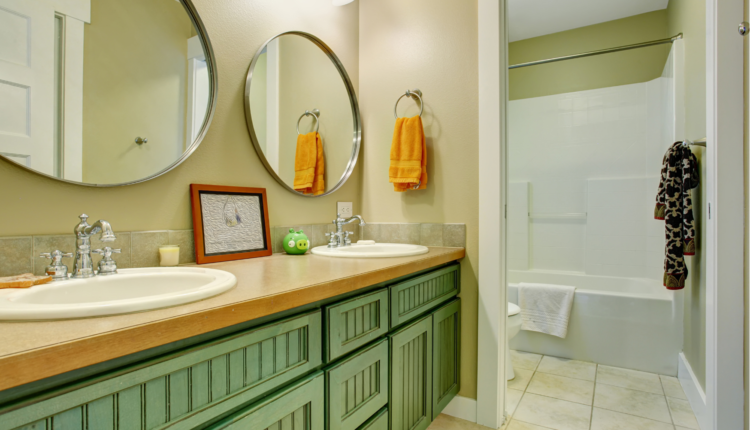 a clean and beautiful bathroom