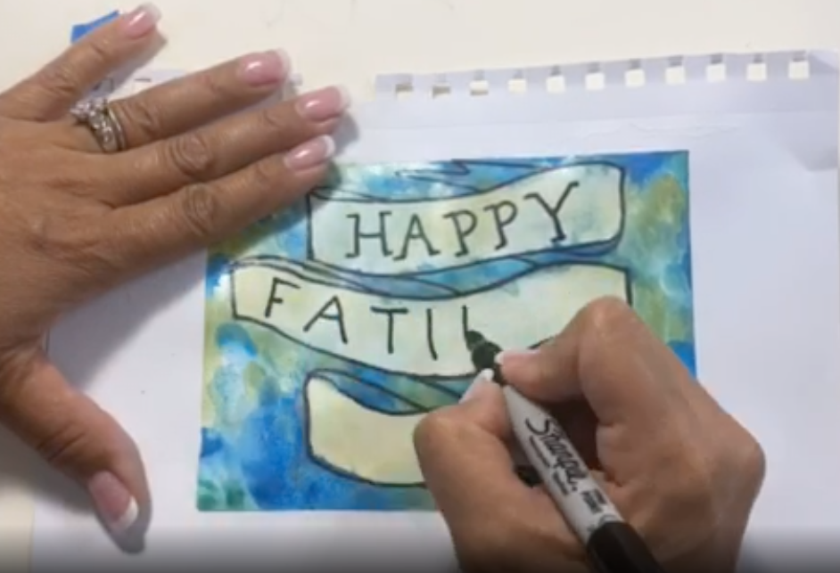 writing a message to your card