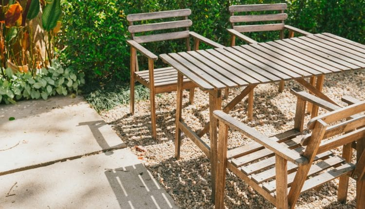 The Best Wood For An Outdoor Table