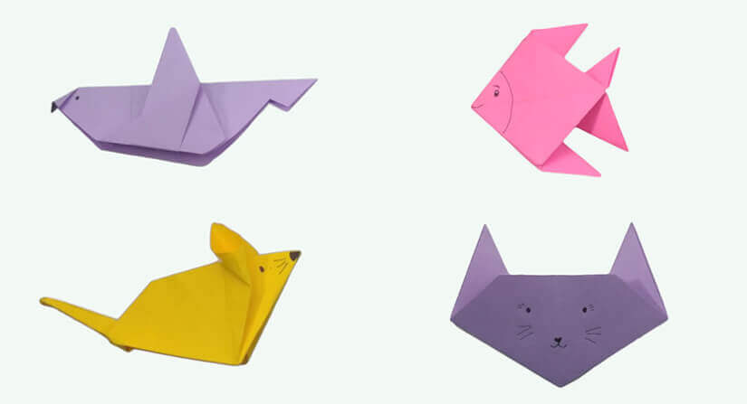 4 Step By Step Cute Origami Animals For Kids That Will Delight - Origamis-animales