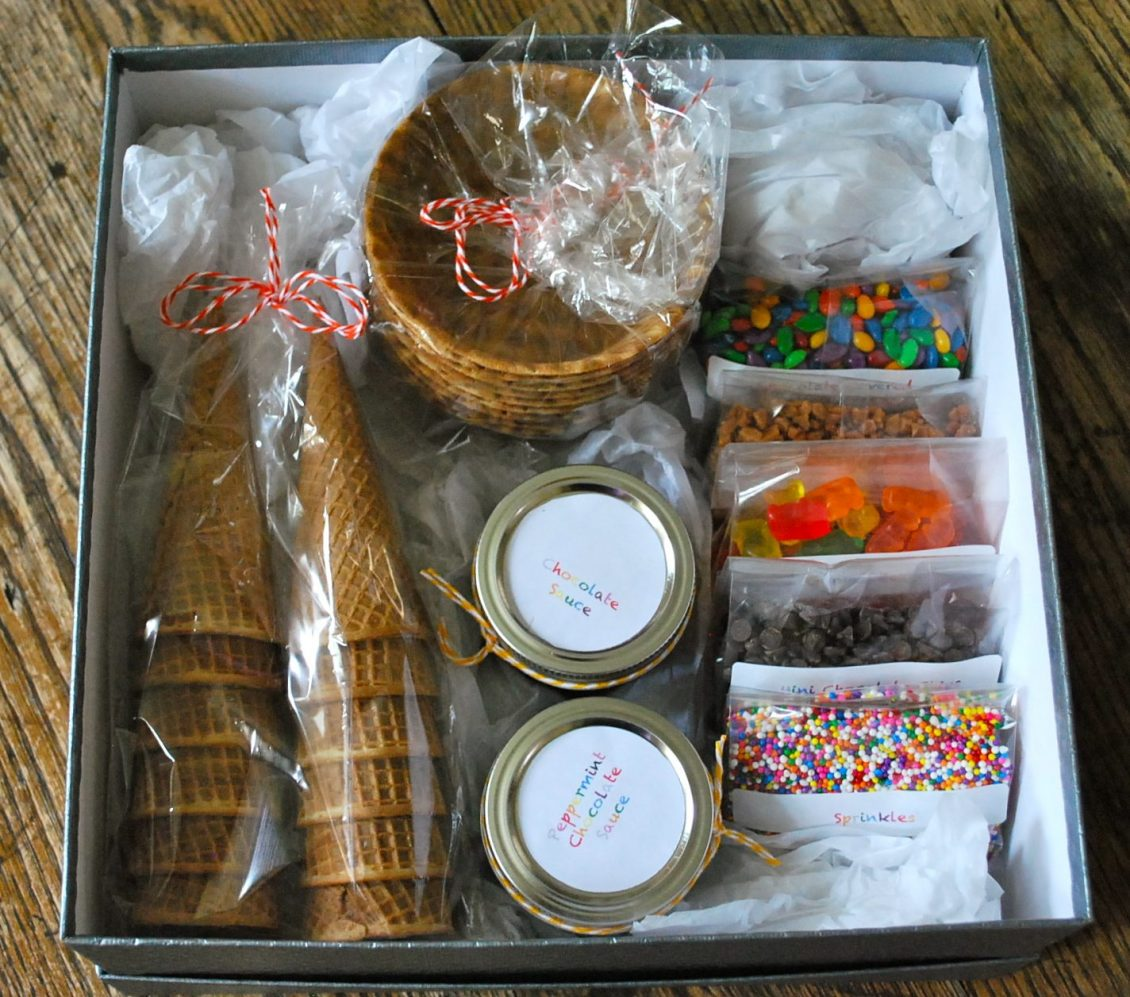 end of year teachers gifts ice cream sundae kit