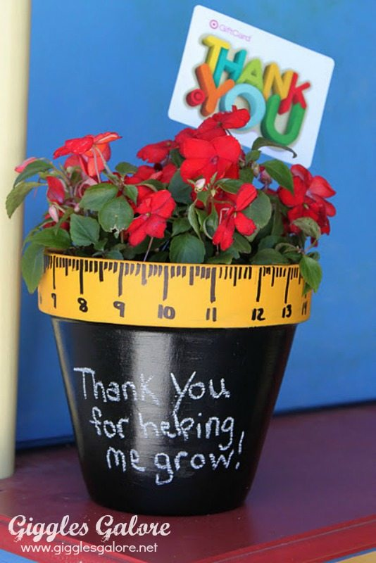 thank you for helping me grow gift for teachers
