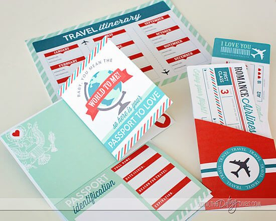 "Give him a very creative way to ""travel the world"" locally using this passport."
