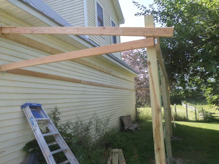 How to Build a Lean-To Shed in 5 Easy Steps - DIY Shareable