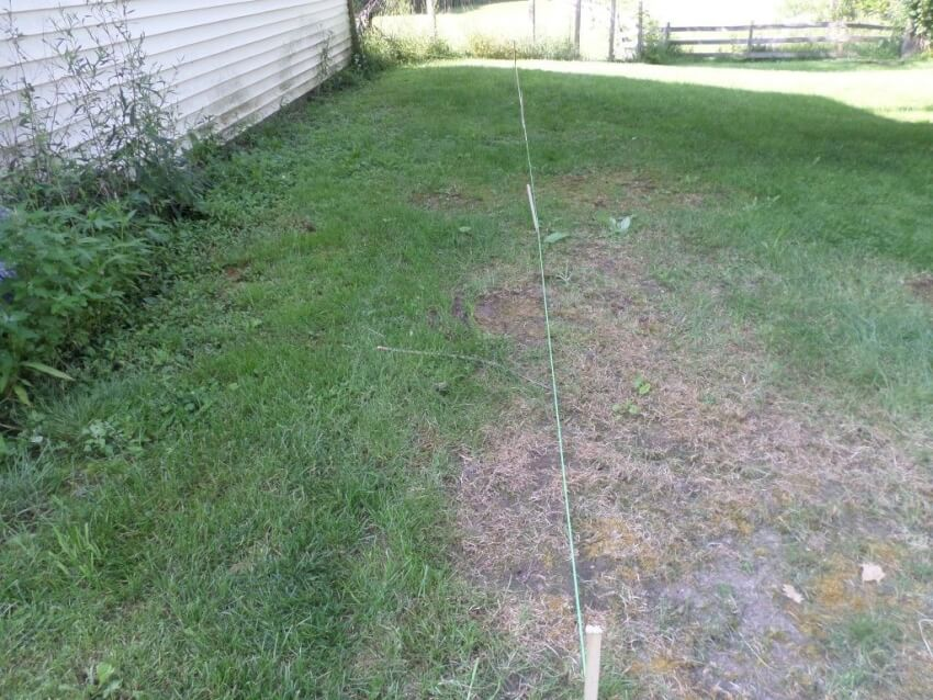 String measurements for lean-to shed