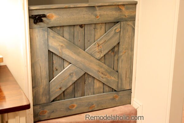 barn door baby gate for stairs
