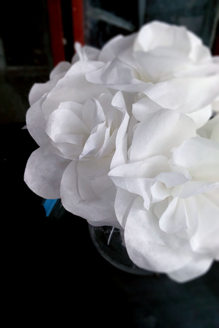 How To Make Beautiful Coffee Filter Flowers Easy To Make