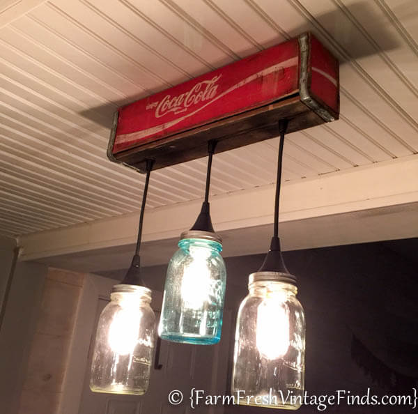 mason jar pendant lights