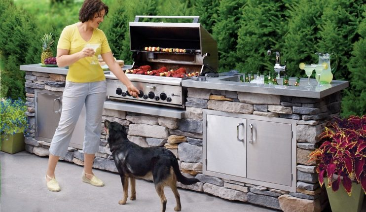 DIY Projects for Men how to build an outdoor kitchen