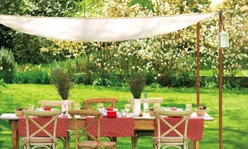 how to make an outdoor canopy
