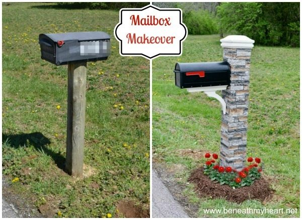 how to makeover your mailbox