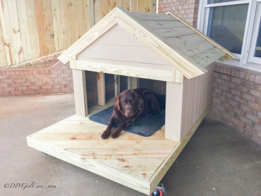 How to Build a Remarkable DIY Dog House: 21 FREE DOG HOUSE ...